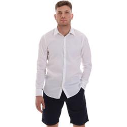 tekstylia Męskie Koszule z długim rękawem Sseinse CE506SS Biały