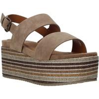Buty Damskie Sandały Onyx S20-SOX752 Brązowy