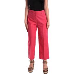 tekstylia Damskie Chinos Pepe jeans PL211023 Różowy