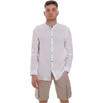 tekstylia Męskie Koszule z długim rękawem Sseinse CE537SS Biały