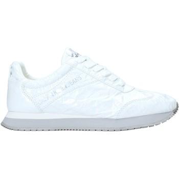 Buty Damskie Trampki niskie Calvin Klein Jeans R7806 Biały