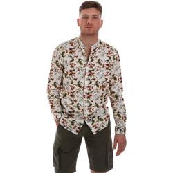 tekstylia Męskie Koszule z długim rękawem Sseinse CE526SS Beżowy