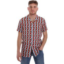 tekstylia Męskie Koszule z krótkim rękawem Sseinse CE516SS Biały