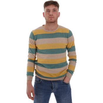 tekstylia Męskie Swetry Sseinse ME1572SS Beżowy