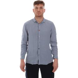 tekstylia Męskie Koszule z długim rękawem Sseinse CE538SS Niebieski