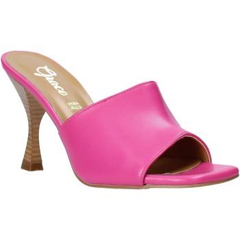Buty Damskie Klapki Grace Shoes 6293Y014 Różowy