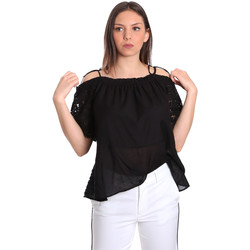 tekstylia Damskie Topy / Bluzki Gaudi 811FD45011 Czarny