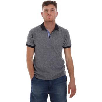 tekstylia Męskie Koszulki polo z krótkim rękawem Sseinse ME1526SS Niebieski