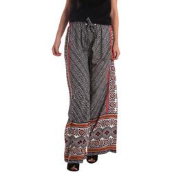tekstylia Damskie Spodnie z lejącej tkaniny / Alladynki Gaudi 73FD25200 Czarny