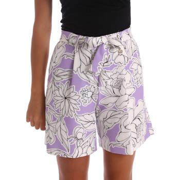 tekstylia Damskie Szorty i Bermudy Y Not? 17PEY003 Fioletowy