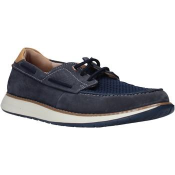 Buty Męskie Buty żeglarskie Clarks 26140957 Niebieski