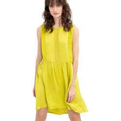 tekstylia Damskie Sukienki krótkie Fracomina FR20SM545 Żółty