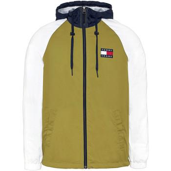 tekstylia Męskie Bluzy Tommy Jeans DM0DM08096 Zielony
