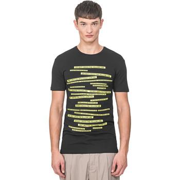 tekstylia Męskie T-shirty z krótkim rękawem Antony Morato MMKS01749 FA120001 Czarny