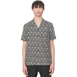 tekstylia Męskie Koszule z krótkim rękawem Antony Morato MMSS00156 FA430413 Beżowy