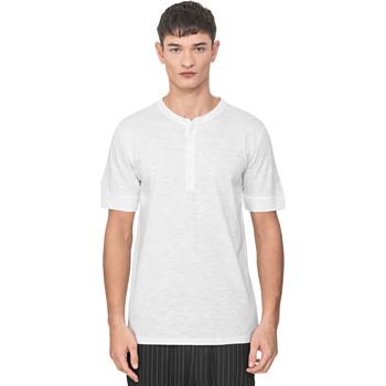 tekstylia Męskie T-shirty z krótkim rękawem Antony Morato MMKS01725 FA100139 Biały