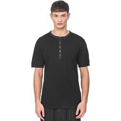 tekstylia Męskie T-shirty z krótkim rękawem Antony Morato MMKS01725 FA100139 Czarny