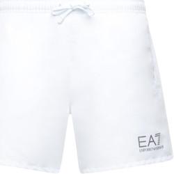 tekstylia Męskie Kostiumy / Szorty kąpielowe Ea7 Emporio Armani 902000 CC721 Biały