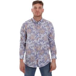 tekstylia Męskie Koszule z długim rękawem Sseinse CE502SS Niebieski