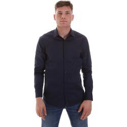 tekstylia Męskie Koszule z długim rękawem Sseinse CE506SS Niebieski