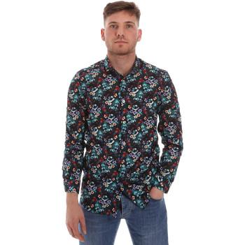 tekstylia Męskie Koszule z długim rękawem Sseinse CE509SS Niebieski