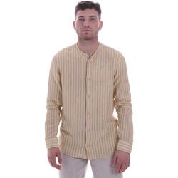 tekstylia Męskie Koszule z długim rękawem Sseinse CE534SS Beżowy
