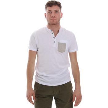 tekstylia Męskie T-shirty z krótkim rękawem Sseinse ME1600SS Biały