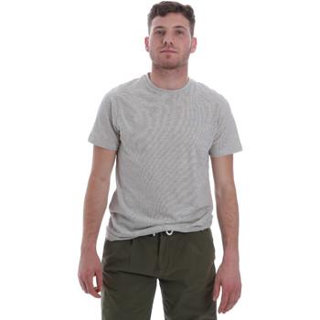 tekstylia Męskie T-shirty z krótkim rękawem Sseinse ME1603SS Biały
