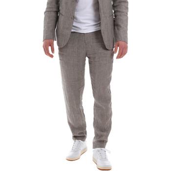 tekstylia Męskie Spodnie od garnituru  Sseinse PSE585SS Brązowy