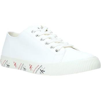 Buty Męskie Trampki niskie Calvin Klein Jeans B4S0668 Biały
