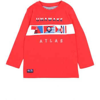 tekstylia Dziewczynka T-shirty z długim rękawem Losan 015-1002AL Czerwony