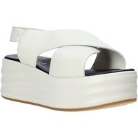 Buty Damskie Sandały Café Noir GG426 Beżowy