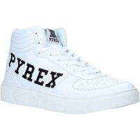 Buty Damskie Trampki wysokie Pyrex PY020207 Biały