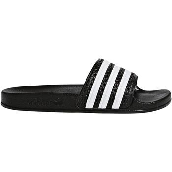 Buty Dziecko klapki adidas Originals BA7130 Czarny