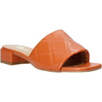 Buty Damskie Klapki Grace Shoes 971Y001 Pomarańczowy