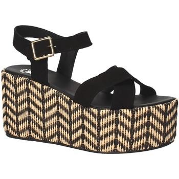Buty Damskie Sandały Exé Shoes G41007047004 Czarny