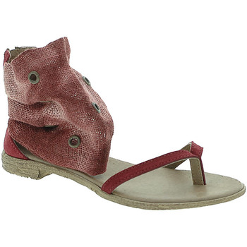 Buty Damskie Sandały 18+ 6111 Czerwony