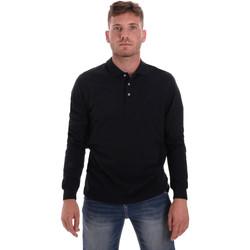 tekstylia Męskie Koszulki polo z długim rękawem Navigare NV82109 Niebieski