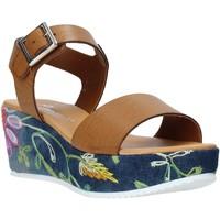 Buty Damskie Sandały Grace Shoes 02 Brązowy