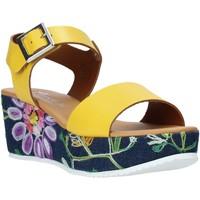 Buty Damskie Sandały Grace Shoes 02 Żółty