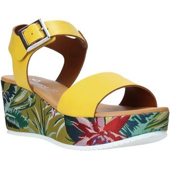 Buty Damskie Sandały Grace Shoes 01 Żółty