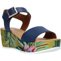 Buty Damskie Sandały Grace Shoes 01 Niebieski