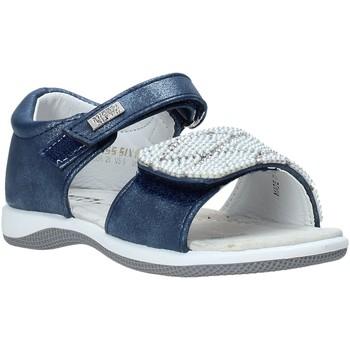 Buty Dziewczynka Sandały Miss Sixty S20-SMS756 Niebieski
