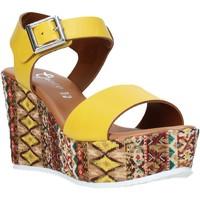 Buty Damskie Sandały Grace Shoes 08 Żółty