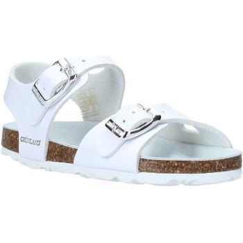 Buty Dziecko Sandały Grunland SB0027 Biały