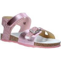 Buty Dziewczynka Sandały Grunland SB1501 Różowy