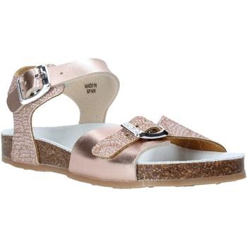 Buty Dziewczynka Sandały Grunland SB1500 Beżowy