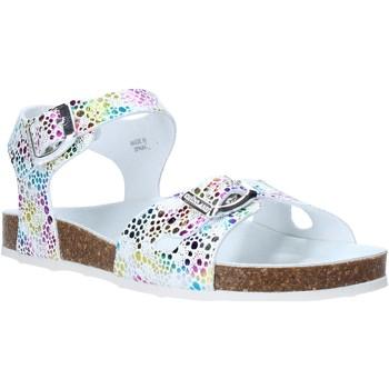 Buty Dziewczynka Sandały Grunland SB1502 Biały