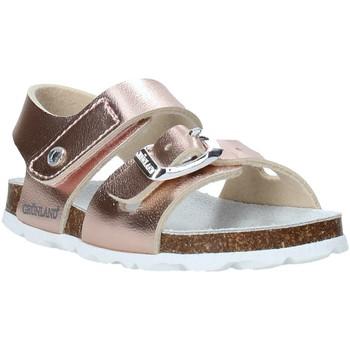 Buty Dziewczynka Sandały Grunland SB0389 Różowy