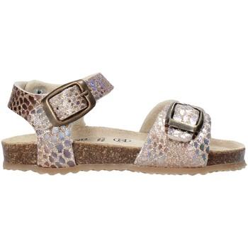 Buty Dziewczynka Sandały Grunland SB1553 Beżowy